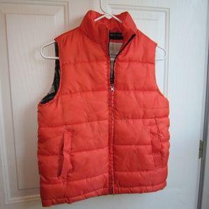 Arizona Orange Kids Puffer Vest